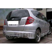 Задняя губа Honda Fit GE