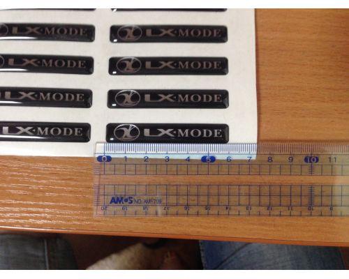 Шильдик (эмблема) LX-mode