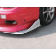Аэродинамические канарды на передний бампер (элероны, ножи, клыки)