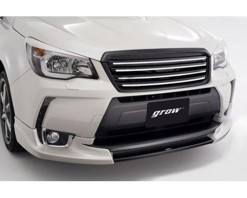Передняя губа GROW на Subaru Forester SJ, SJG, SJ5 (2013-2016)