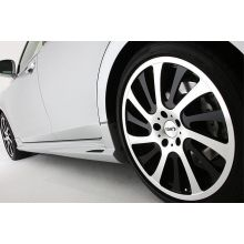 Пороги TOMS на Toyota Crown 210 кузов все модели